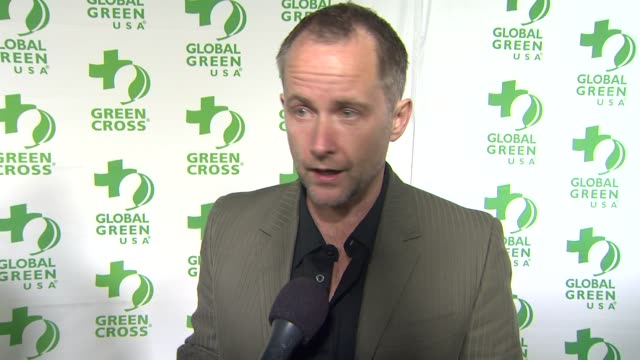 INTERVIEW Billy Boyd on what he appreciates about the work Global Green USA is doing at Global Green USA's 10th Annual PreOscar Party on 2/20/13 in...