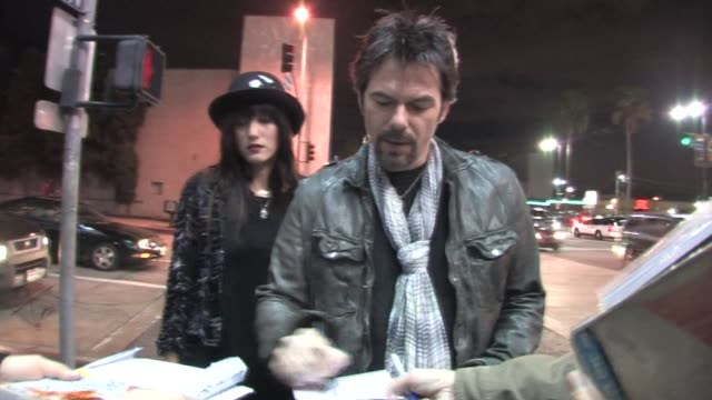 billy burke & pollyanna rose at pantages theater in hollywood at the celebrity sightings in los angeles at los angeles ca. - パンテージスシアター点の映像素材/bロール