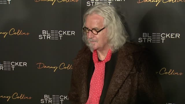 stockvideo's en b-roll-footage met billy connolly at new york premiere of bleeker street's danny collins at amc lincoln square theater on march 18 2015 in new york city - billy connolly