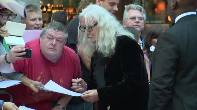 stockvideo's en b-roll-footage met billy connolly at tate modern on september 06 2016 in london england - billy connolly