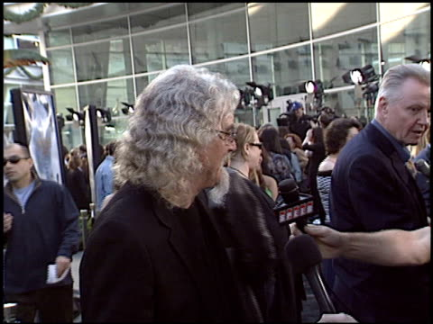 billy connolly at the 'lemony snicket's a series of unfortunate events' premiere at the cinerama dome at arclight cinemas in hollywood, california on... - billy connolly stock videos & royalty-free footage