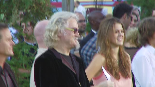 billy connolly at the 'open season' premiere at the greek theater in los angeles, california on september 25, 2006. - billy connolly stock videos & royalty-free footage