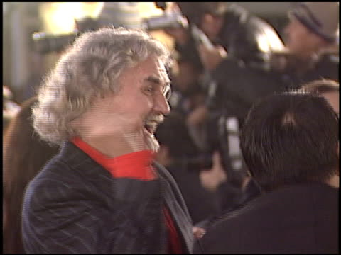 billy connolly at the premiere of 'the last samurai' on december 1, 2003. - billy connolly stock videos & royalty-free footage