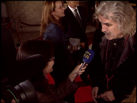 billy connolly at the 'timeline' premiere on november 19, 2003. - billy connolly stock videos & royalty-free footage