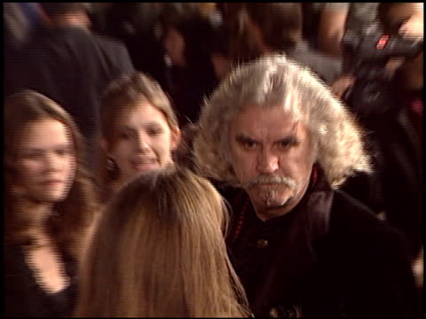 billy connolly at the 'timeline' premiere on november 19 2003 - billy connolly video stock e b–roll