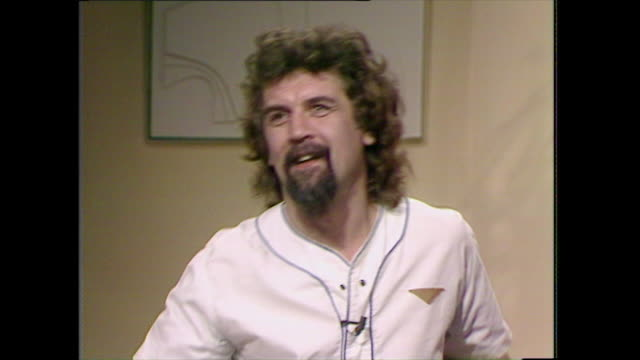 "billy connolly defends his choice to talk about 'real things' despite some criticism and explains how he likes to talk about ""real things"" . - choice stock videos & royalty-free footage"