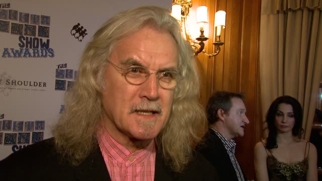 billy connolly on comedians being criticized in the news at the the south bank show awards at london england. - billy connolly stock videos & royalty-free footage