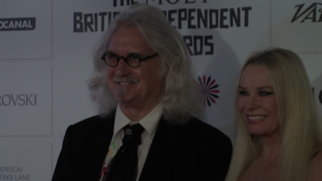 billy connolly, pamela stephenson at british independent film awards arrivals at old billingsgate market on december 9, 2012 in london, england. - billy connolly stock videos & royalty-free footage