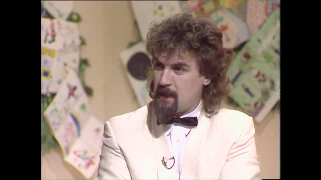 billy connolly recalls how he has become involved with the variety club and raising money for charities in general - full suit stock videos & royalty-free footage