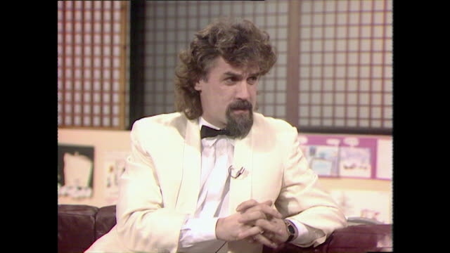 "billy connolly responds to being called 'scruffy': ""underneath this hairy exterior is a very beautiful person. i'm a greatly misunderstood man. as a... - full suit stock videos & royalty-free footage"