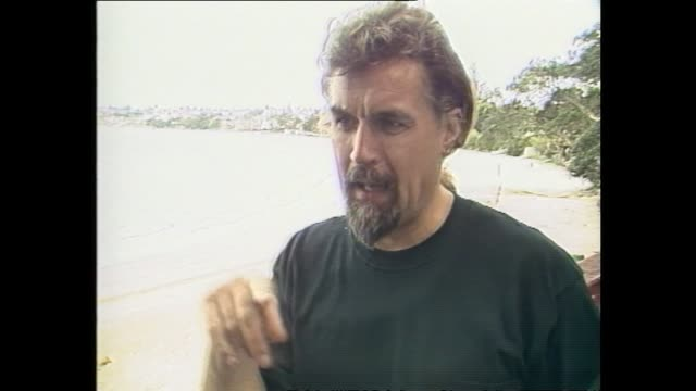 billy connolly speaking about people being outraged by important world events rather than provocative language or racy content in 1987 during... - 1987 stock videos & royalty-free footage