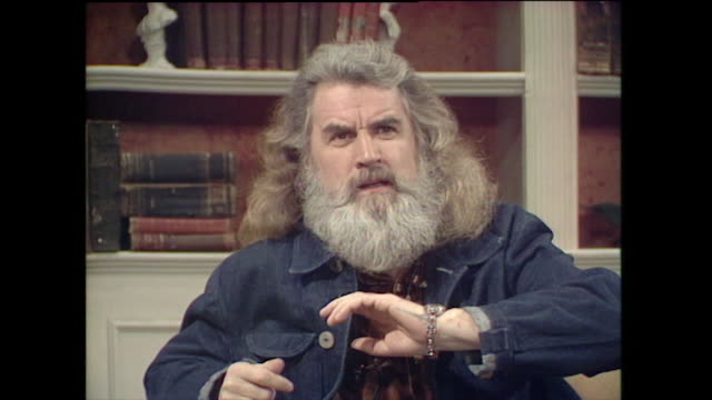 billy connolly speaking in 1997 gives his thoughts on scottish independence patriotism and the proposition of a scottish government in the future i... - stormont stock videos and b-roll footage