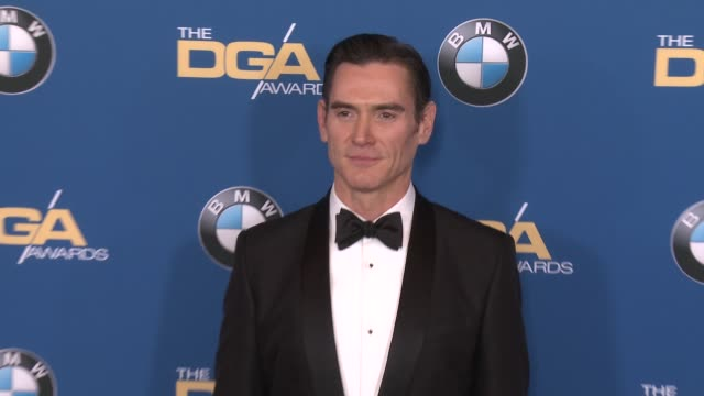billy crudup at 69th annual directors guild of america awards in los angeles ca - directors guild of america awards stock videos & royalty-free footage