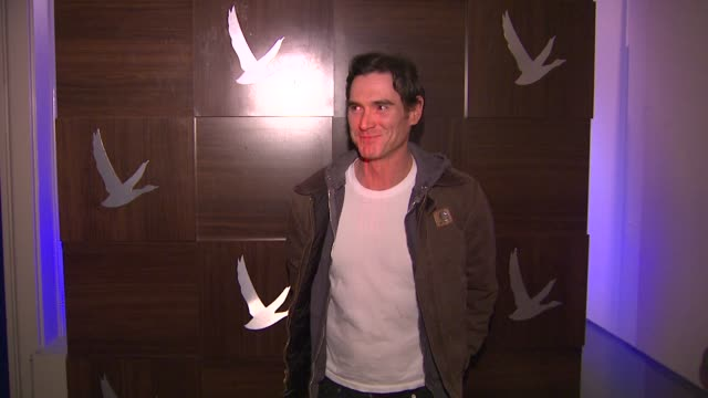 billy crudup at grey goose blue door hosts rudderless party during sundance film festival on in park city utah - park city utah video stock e b–roll