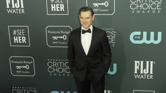 billy crudup at the 25th annual critics' choice awards at barker hangar on january 12 2020 in santa monica california - annual event stock videos & royalty-free footage