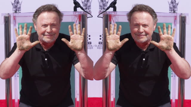 Billy Crystal at TCM to Honor Billy Crystal with Hand and Footprint Ceremony