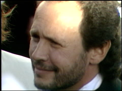 billy crystal at the 1989 academy awards at the shrine auditorium in los angeles california on march 29 1989 - billy crystal stock videos & royalty-free footage