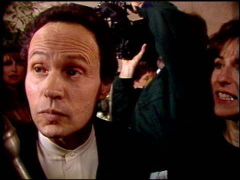 billy crystal at the 1992 golden globe awards at the beverly hilton in beverly hills california on january 18 1992 - billy crystal stock videos & royalty-free footage