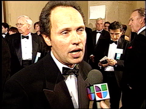 billy crystal at the 1993 golden globe awards at the beverly hilton in beverly hills california on january 23 1993 - billy crystal stock videos & royalty-free footage