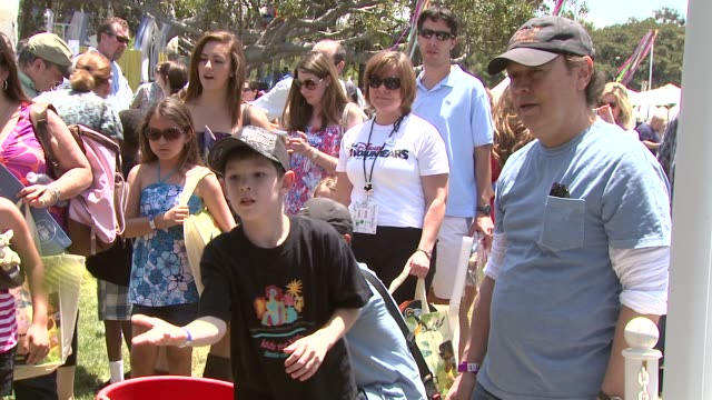 billy crystal at the 20th anniversary 'a time for heroes' celebrity carnival sponsored by disney at los angeles ca - billy crystal stock videos & royalty-free footage