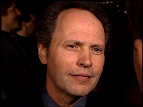 Billy Crystal at the 'Analyze This' Premiere at the Mann Village Theatre in Westwood California on March 1 1999