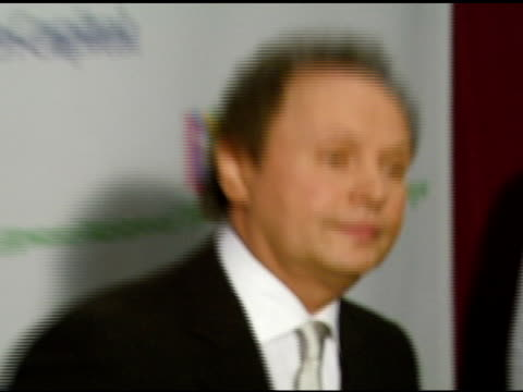 billy crystal at the singers and songs celebration of tony bennetts 80th birthday by raising funds for newman�s hole in the wall camps at the kodak... - billy crystal stock videos & royalty-free footage