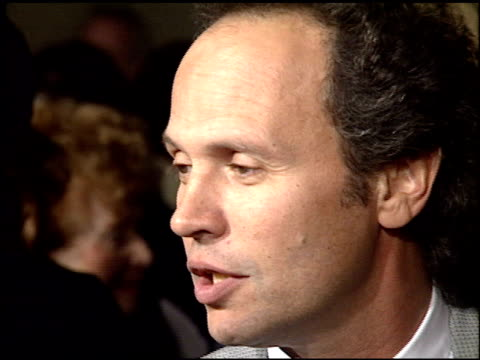 billy crystal at the 'sunset boulevard' premiere at shubert theater in century city california on november 30 1993 - billy crystal stock videos & royalty-free footage