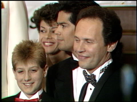 billy crystal at the tribute to kareem abdul jabbar at the century plaza hotel in century city california on april 25 1989 - billy crystal stock videos & royalty-free footage