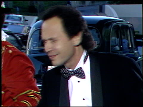 billy crystal at the tribute to kareem abdul jabbar at the century plaza hotel in century city, california on april 25, 1989. - century city stock videos & royalty-free footage