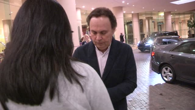 Billy Crystal greets fans at 'A Night At Sardi's' at The Beverly Hilton Hotel in Beverly Hills on March 26 2014 in Los Angeles California