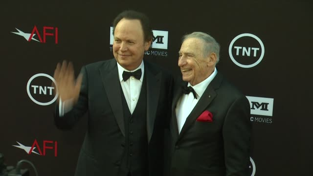 billy crystal mel brooks at 41st afi life achievement award honoring mel brooks on 6/6/2013 in hollywood ca - billy crystal stock videos & royalty-free footage
