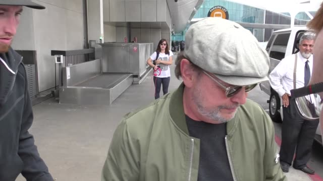 INTERVIEW Billy Crystal on Chris Paul and the Clippers at Los Angeles International Airport at Celebrity Sightings in Los Angeles on May 05 2017 in...