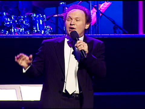 billy crystal performing at the singers and songs celebration of tony bennett's 80th birthday by raising funds for newmans 'hole in the wall camps'... - tony bennett singer stock videos and b-roll footage
