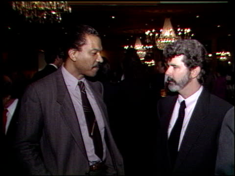 Billy Dee Williams at the George Lucas Receives Jean Renoir Award at Sportsmans' Lodge in Los Angeles California on March 13 1989