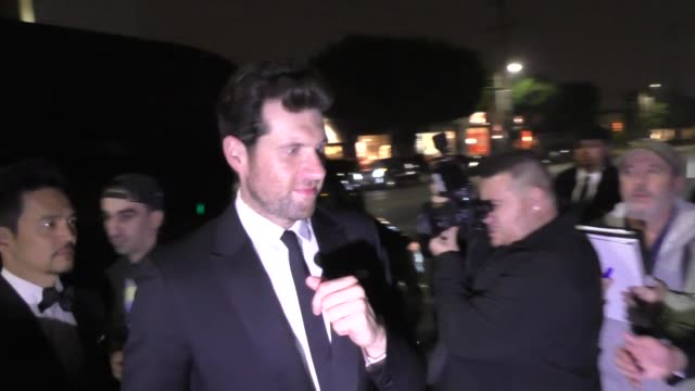 billy eichner john cho outside seth meyers' golden globe awards after party at poppy nightclub in west hollywood in celebrity sightings in los angeles - seth meyers stock videos and b-roll footage