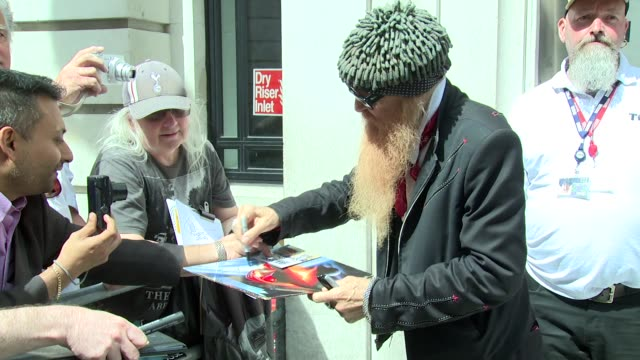 Billy Gibbons on August 08 2016 in London England