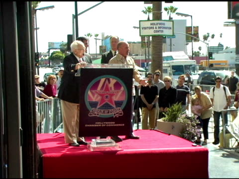 billy joel at the dedication of billy joel's star on hollywood walk of fame at hollywood boulevard in hollywood, california on september 20, 2004. - billy joel stock videos & royalty-free footage