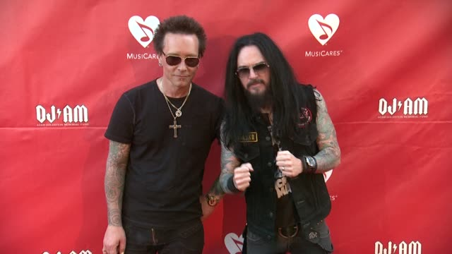 Billy Morrison at 2014 10th Annual MusiCares MAP Fund Benefit Concert Arrivals at Club Nokia on May 12 2014 in Los Angeles California