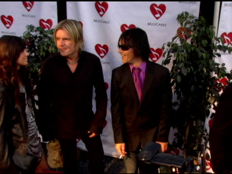 billy morrison at the 2nd annual musicares map fund benefit concert at the henry fonda theater in hollywood california on may 12 2006 - benefit concert stock videos and b-roll footage