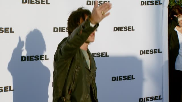 billy morrison at the diesel celebrates the opening of the melrose place flagship store at diesel melrose place in los angeles california on may 30... - store opening stock videos & royalty-free footage