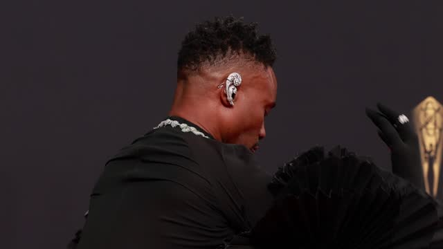 billy porter arrives to the 73rd annual primetime emmy awards at l.a. live on september 19, 2021 in los angeles, california. - emmy awards stock videos & royalty-free footage