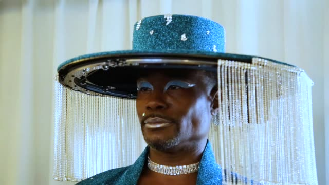 billy porter at billy porter gets ready for the 62nd annual grammy awards on january 26 2020 in los angeles california - grammy awards stock videos & royalty-free footage