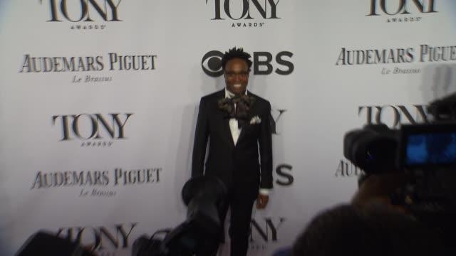 vídeos y material grabado en eventos de stock de billy porter at the 2014 tony awards at radio city music hall on june 08 2014 in new york city - radio city music hall