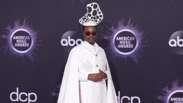 billy porter at the 2019 american music awards at microsoft theater on november 24 2019 in los angeles california - american music awards stock videos & royalty-free footage