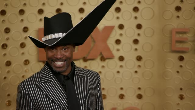 vídeos y material grabado en eventos de stock de billy porter at the 71st emmy awards at microsoft theater on september 22, 2019 in los angeles, california. - premios emmy
