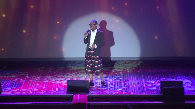 performance billy porter performs at the trevor project's trevorlive new york at marriott marquis hotel on june 13 2016 in new york city - marriott marquis new york stock videos & royalty-free footage