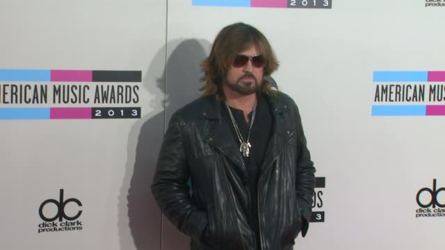 billy ray cyrus at 2013 american music awards arrivals in los angeles ca - american music awards stock videos and b-roll footage