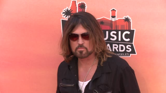 billy ray cyrus at the 2014 iheartradio music awards - arrivals at the shrine auditorium on may 01, 2014 in los angeles, california. - shrine auditorium stock videos & royalty-free footage