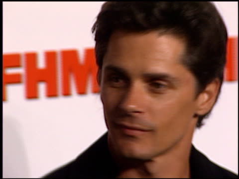 Billy Warlock at the FHM Magazine 100 Sexiest Women at La Boheme in West Hollywood California on May 17 2001