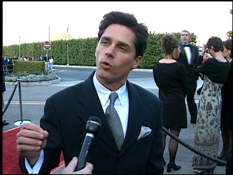 billy warlock at the soap opera digest awards entrances at universal studios in universal city, california on february 26, 1999. - soap opera stock videos & royalty-free footage